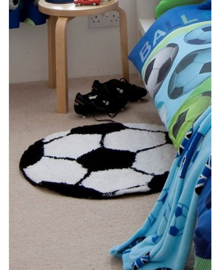 Catherine Lansfield It's A Goal Football Rug