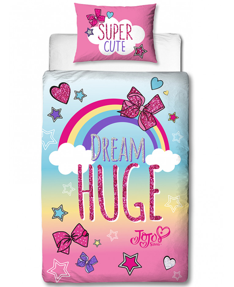 Jojo Siwa Bedding Jojo Bows Single Duvet Cover