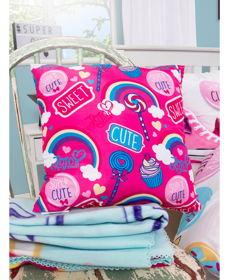 JoJo Siwa Bow Sweet Reversible Cushion
