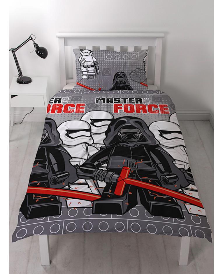 Copripiumino Star Wars.Lego Star Wars Seven Copripiumino Singolo E Set Di Federa