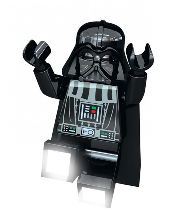 lego wars darth vader led torch light bedside