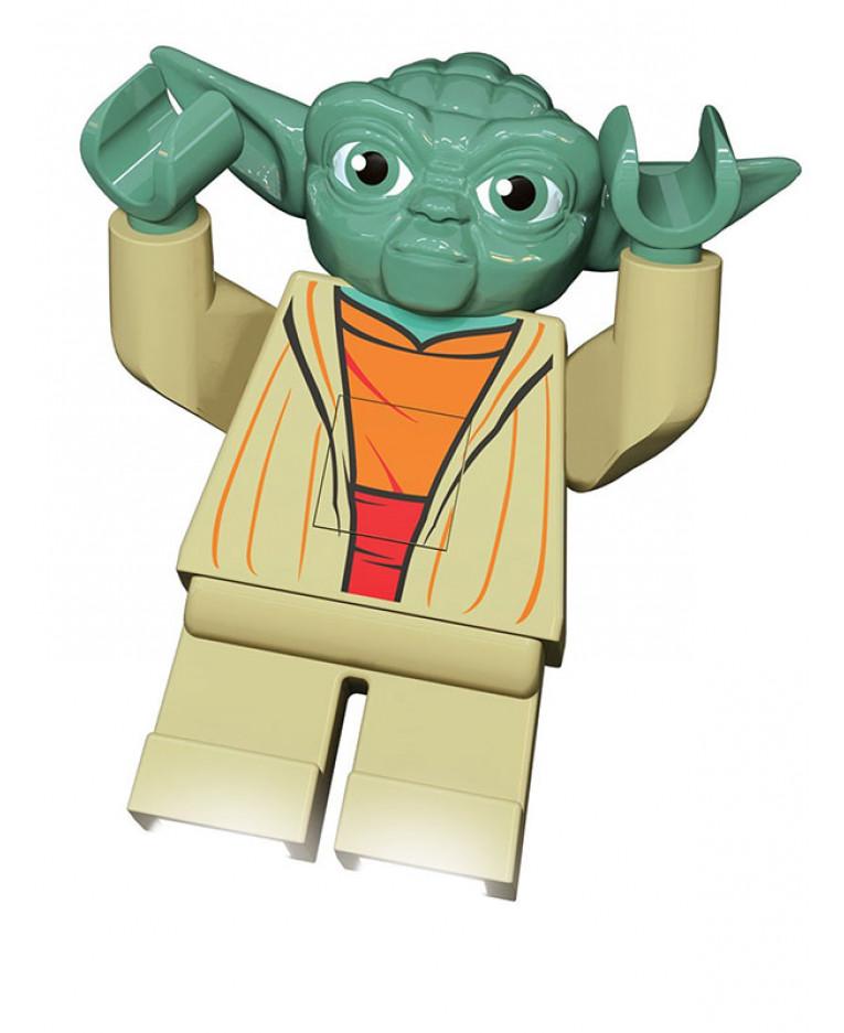 lego star wars yoda led torch - Lego Yoda