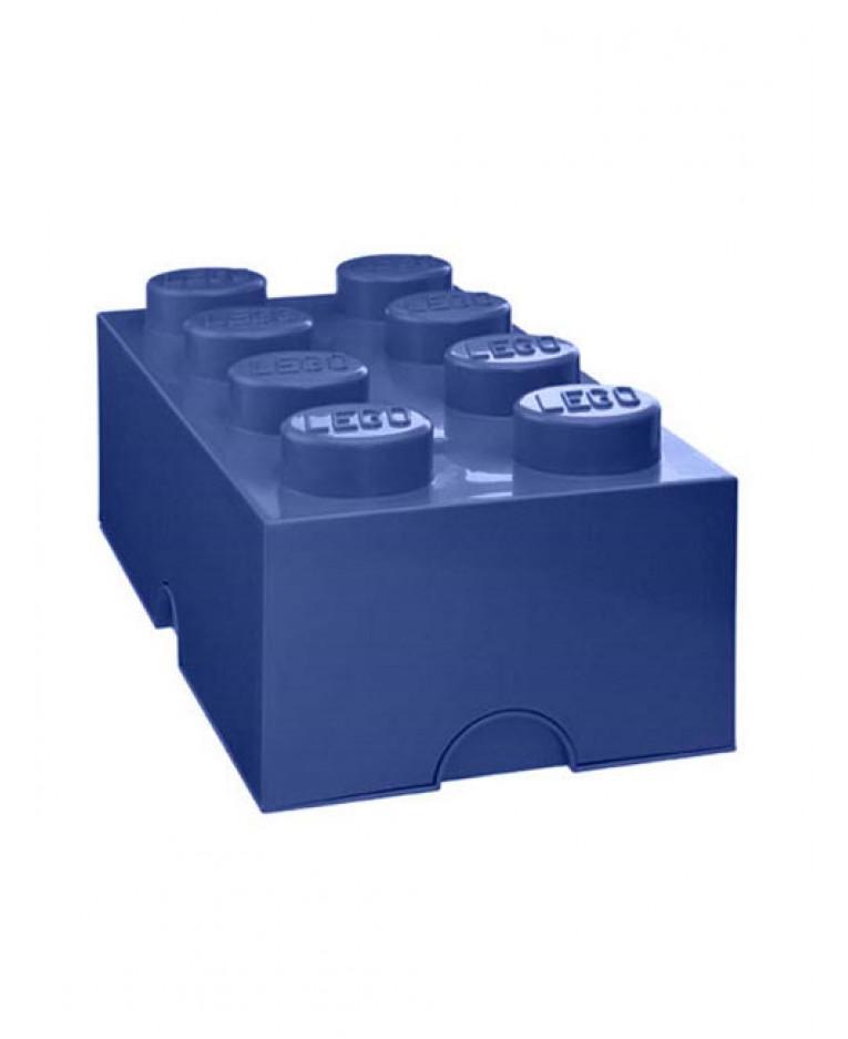 Blue Storage Kids Toy Box Playroom Furniture Bedroom Girls: Lego Storage Brick Box 8
