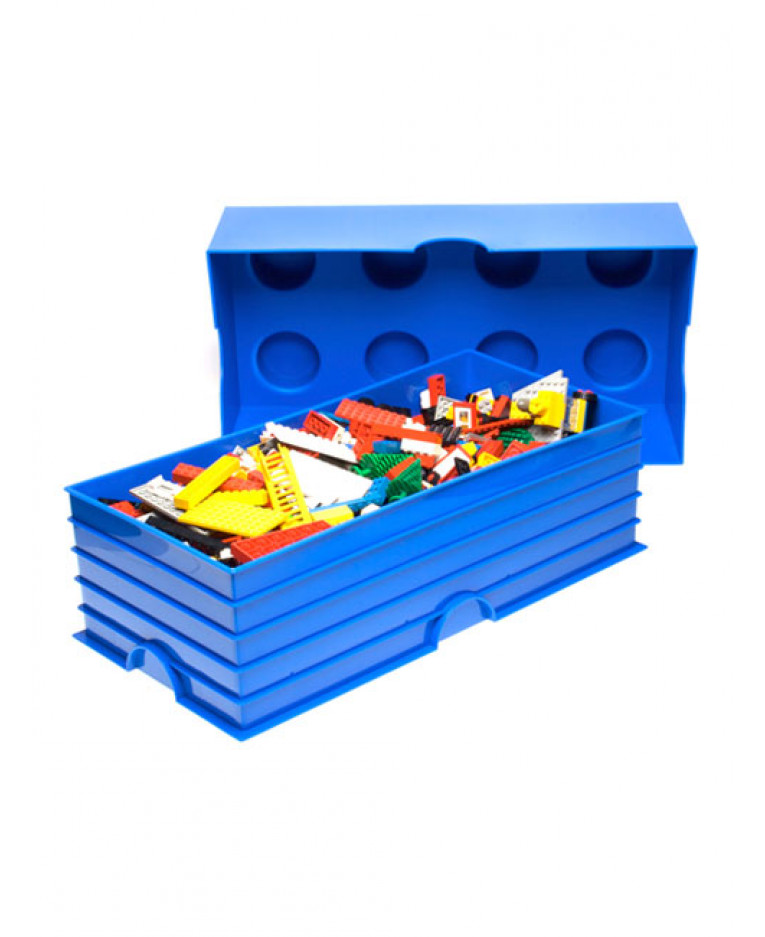 sc 1 st  PriceRightHome & Lego Storage Brick Box 8 - More Colours Available