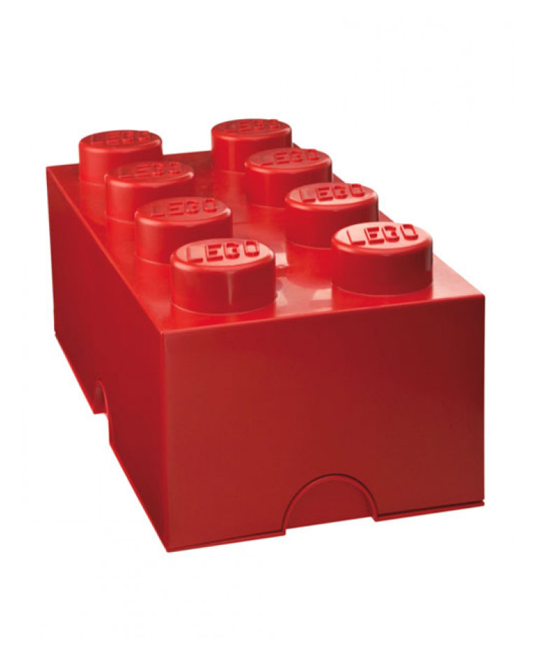 lego storage brick box 8 more colours available. Black Bedroom Furniture Sets. Home Design Ideas
