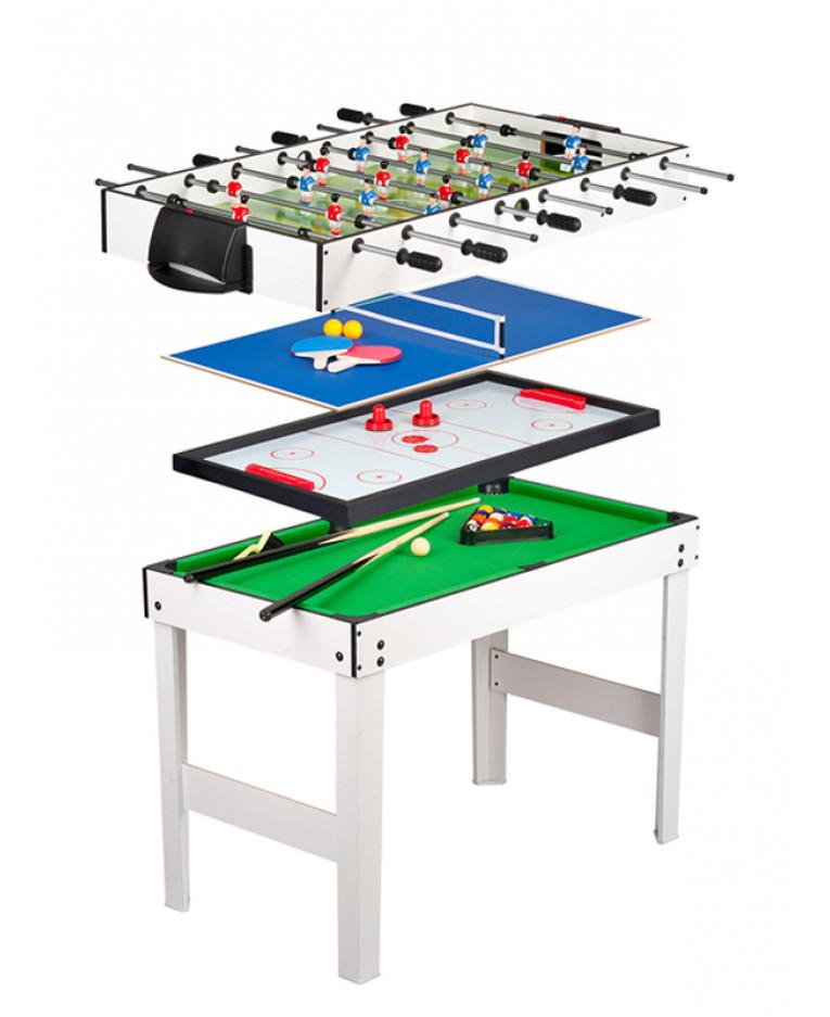 leomark 4 in 1 multi games table. Black Bedroom Furniture Sets. Home Design Ideas