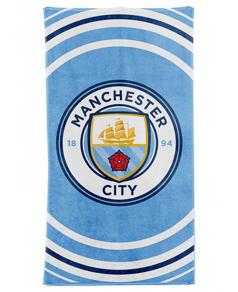 Manchester City FC Pulse Towel | Football | Beach | Bath