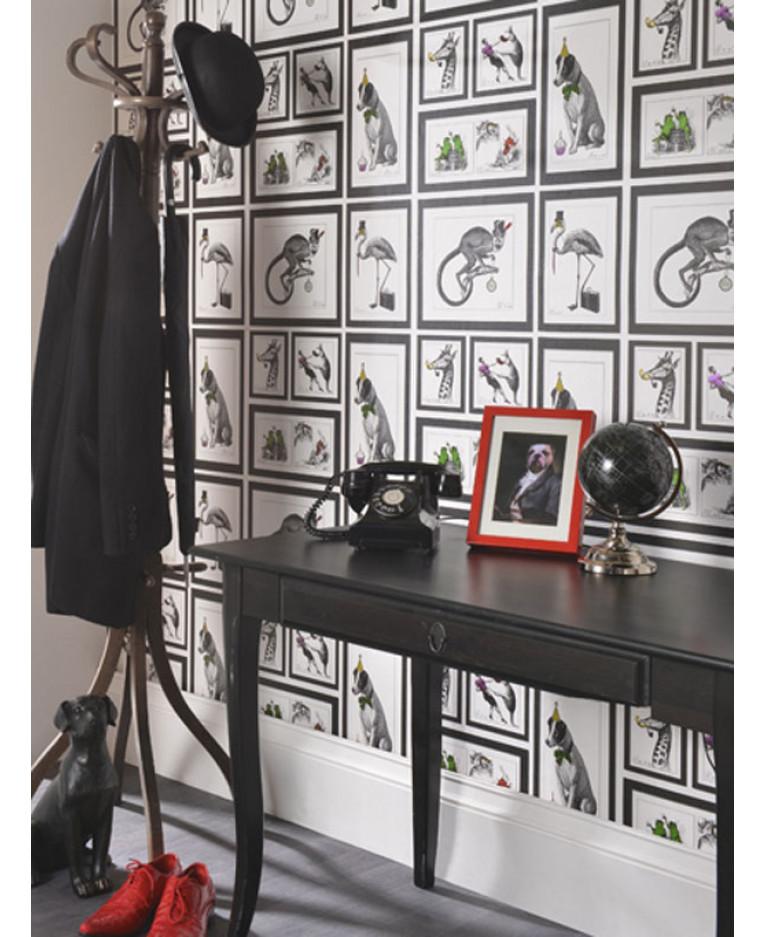 Mad Dogs Framed Animals Wallpaper 97921