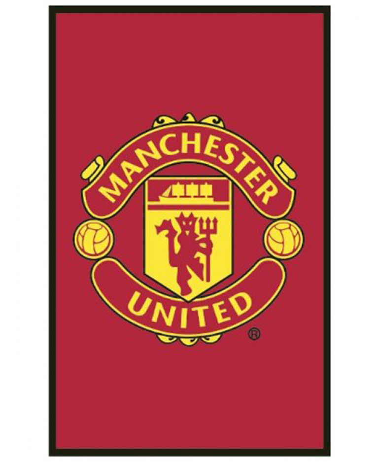 Manchester United Fc Crest Floor Rug