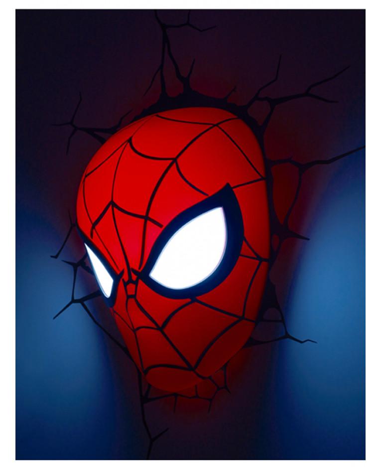 Marvel Wall Lights Maplin : Price Right Home - Marvel Spiderman 3D LED Wall Light