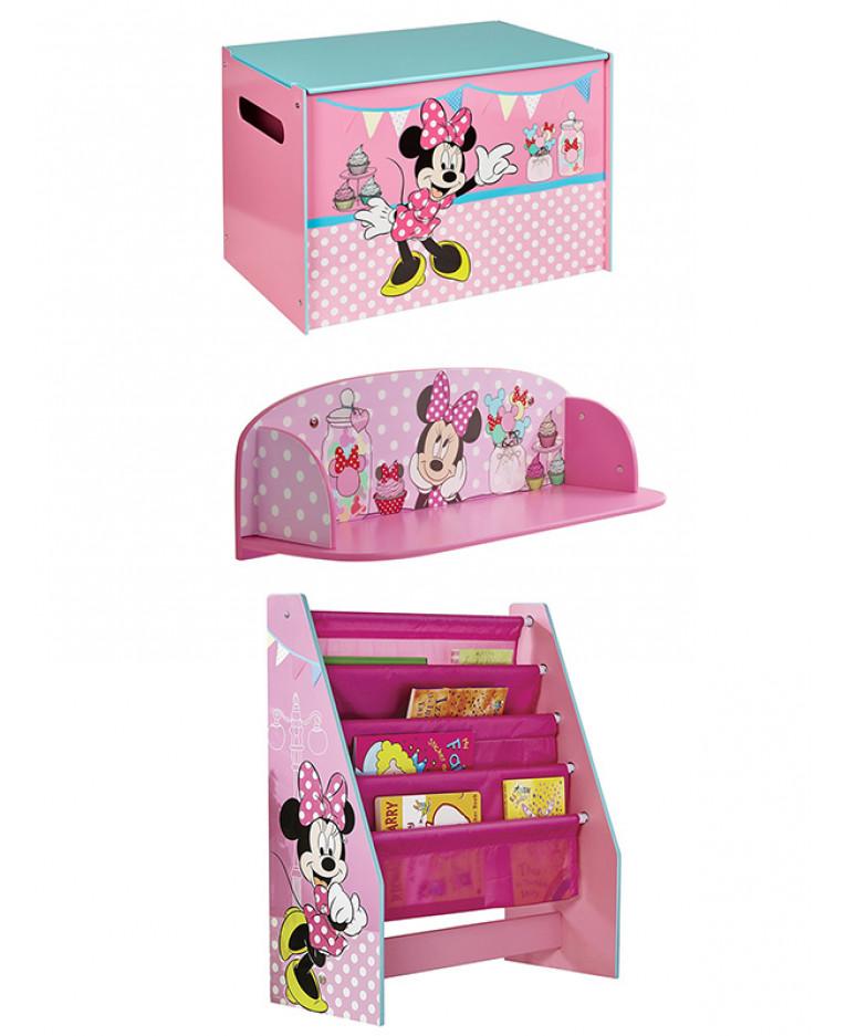 Minnie Mouse Bedroom Furniture Storage Set