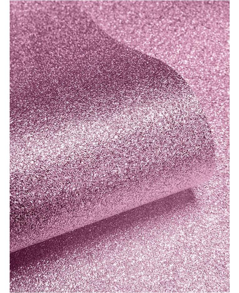Textured Sparkle Glitter Effect Wallpaper - Soft Pink - 601530 Muriva