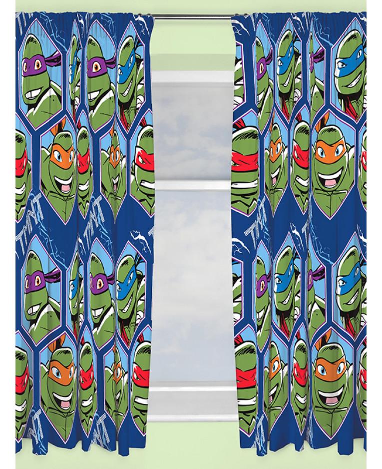Turtles Dimension Curtains