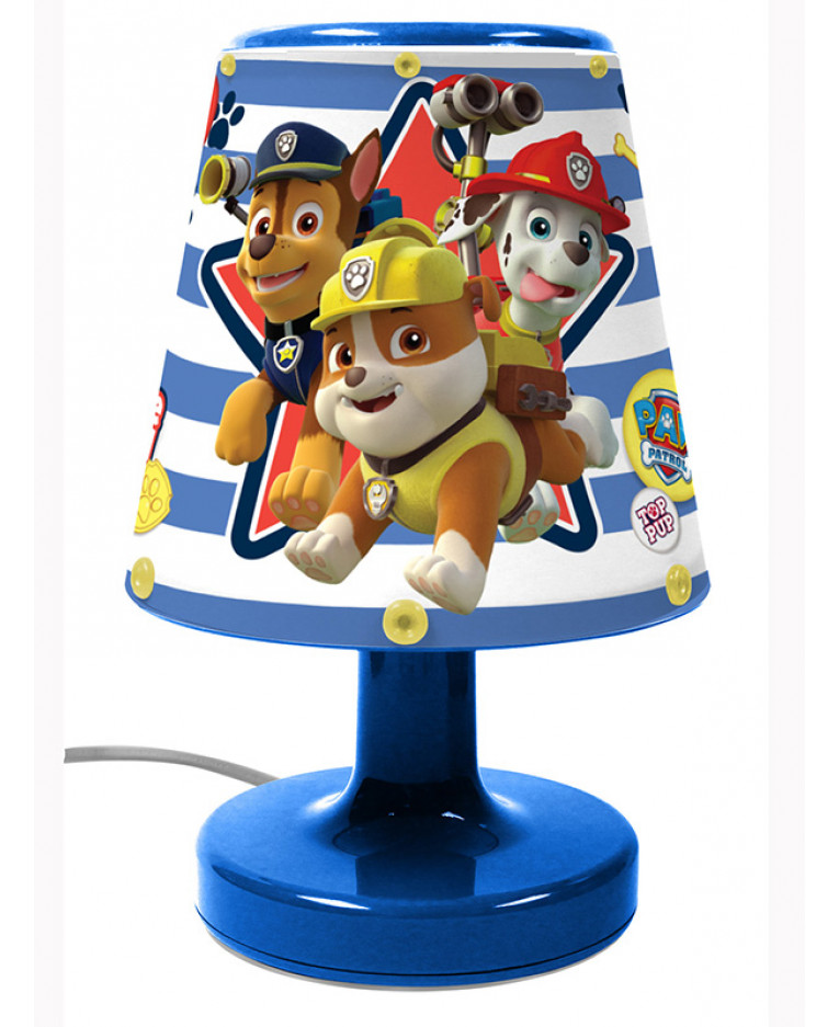 Paw Patrol Bedside Lamp Light | Kids Bedroom | Lighting