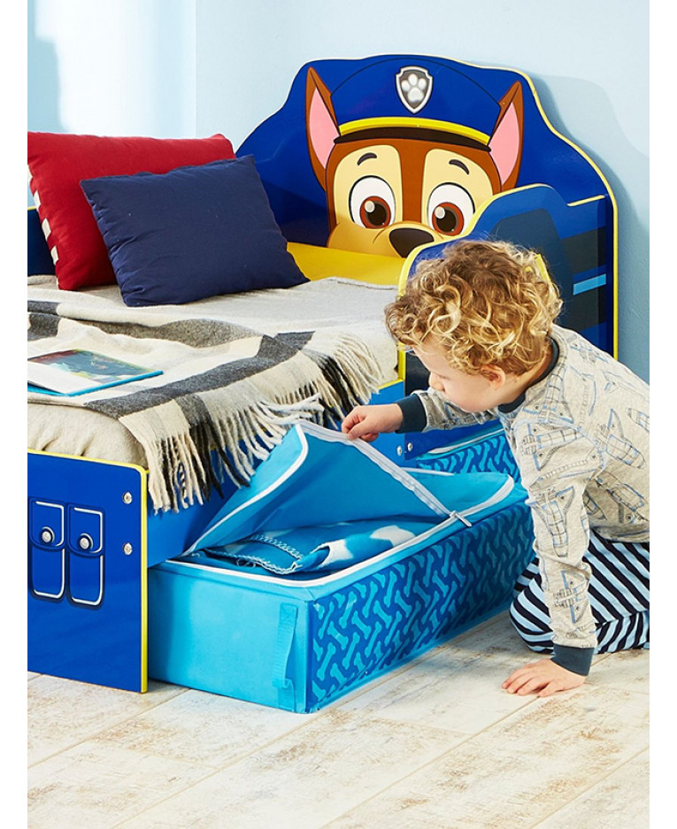 Paw Patrol Toddler Bed with drawers