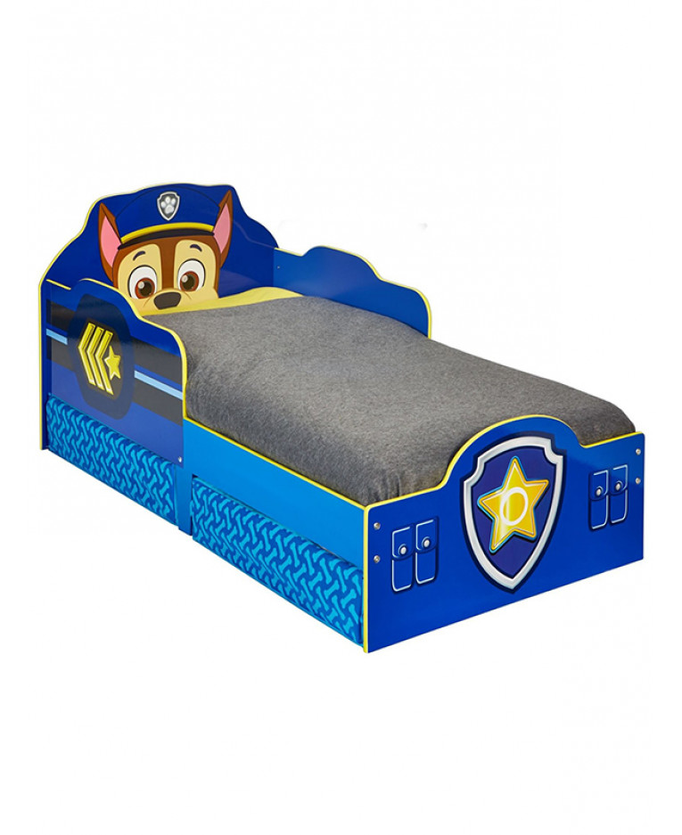 Paw Patrol Chase Junior Bed With Storage
