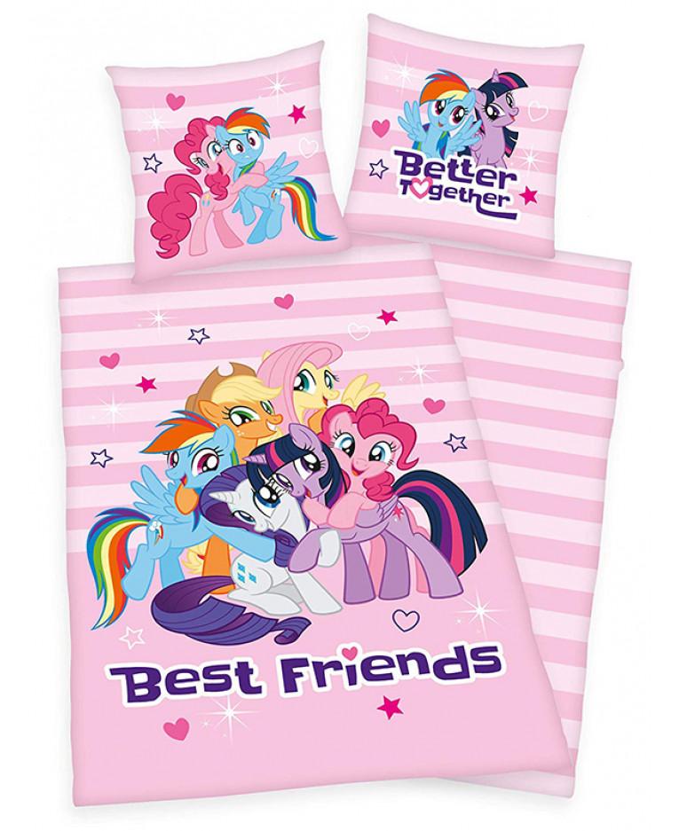 Copripiumino My Little Pony.My Little Pony Set Copri Piumino Singolo Best Friends Camera Da