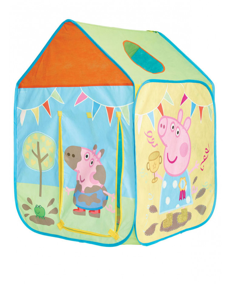 Peppa Pig Play Tent Play House  sc 1 st  PriceRightHome & Peppa Pig Wendy House Play Tent | Pop Up | Playhouse