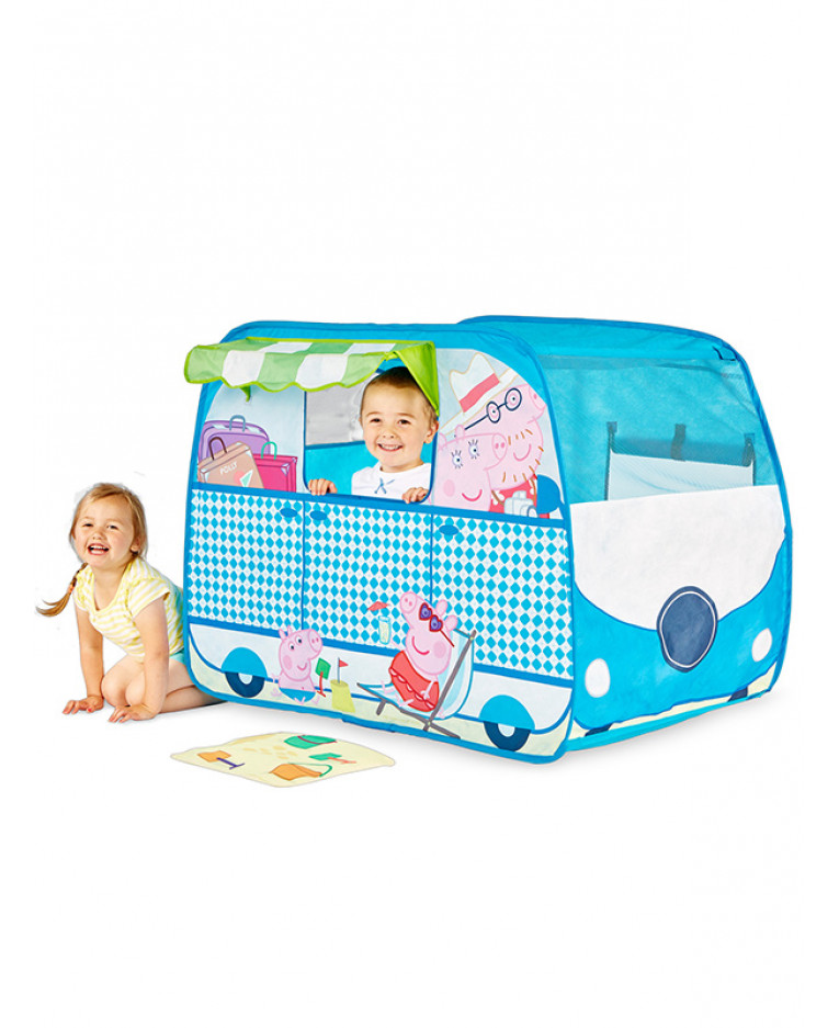 Peppa Pig Cempervan Pop Up Play Tent  sc 1 st  PriceRightHome & Peppa Pig Campervan Pop Up Role Play Tent