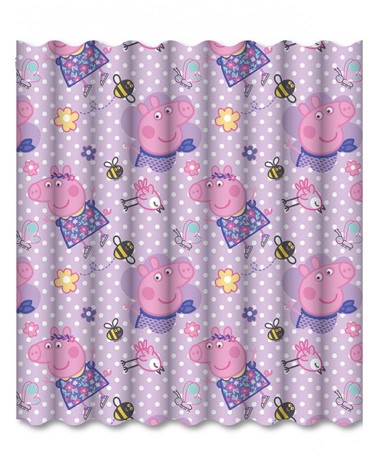 Peppa Pig Happy Curtains Bedroom
