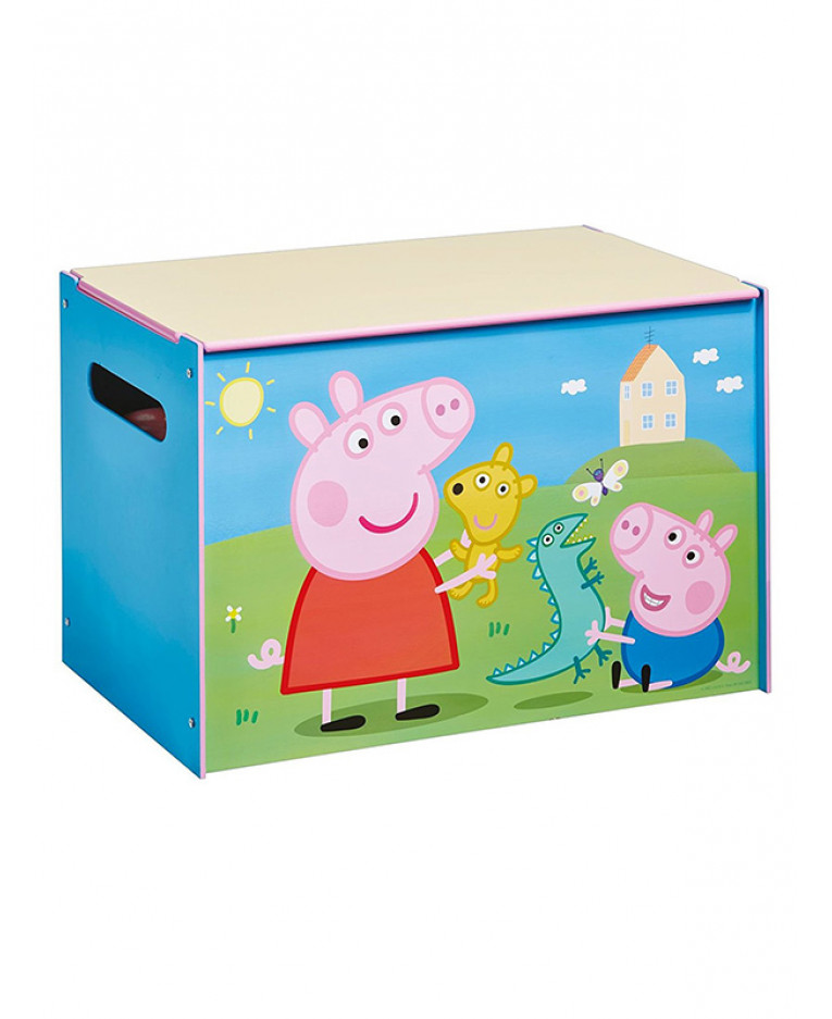 Dinosaurs Mdf Toy Box Childrens Storage Toys Games Books: Peppa Pig Toy Box