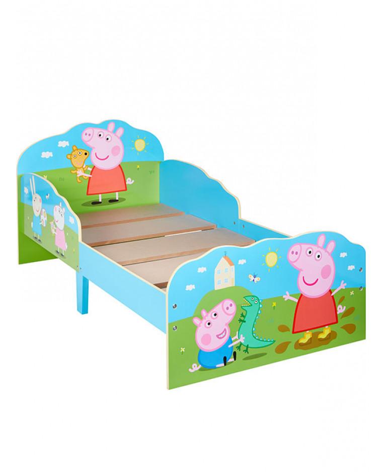 Peppa Pig Toddler Bed Plus Storage