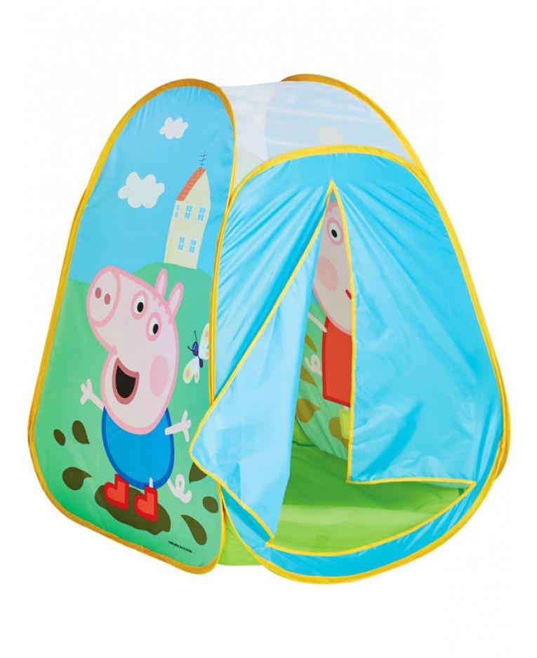 peppa pig pop up play tent