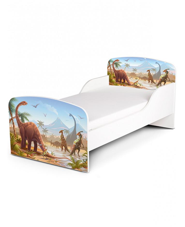 PriceRightHome Jurassic Dinosaurs Toddler Bed | Furniture