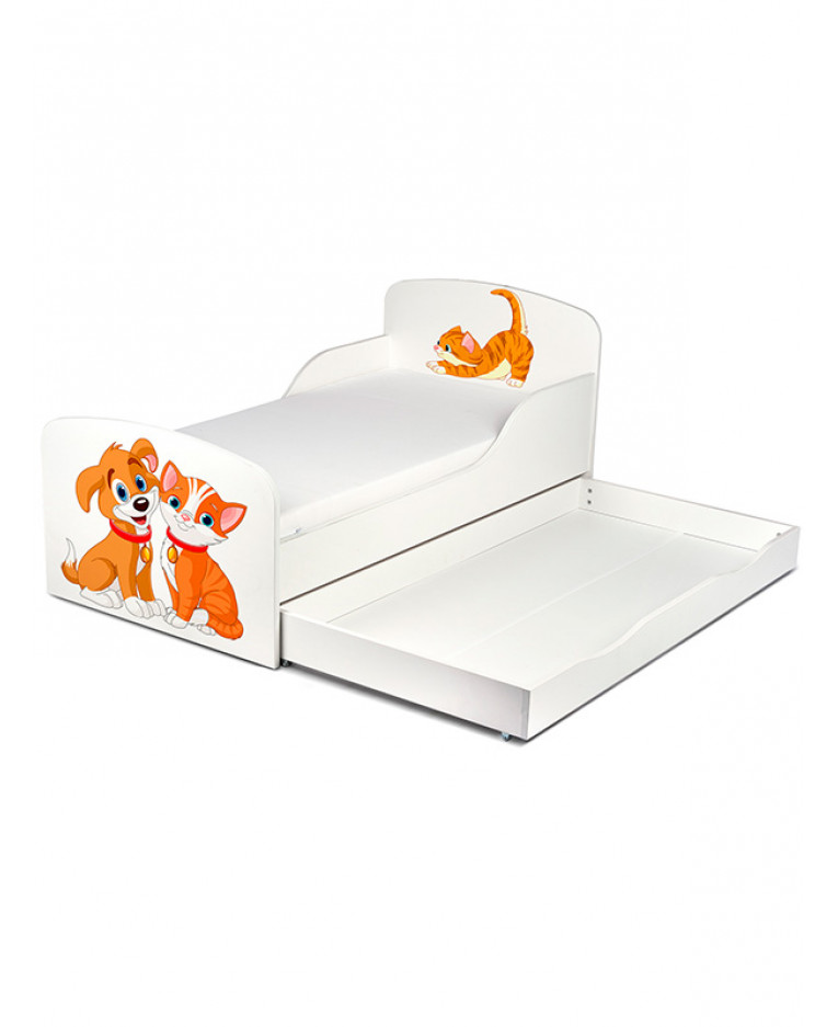 PriceRightHome Cat And Dog Toddler Bed With Underbed