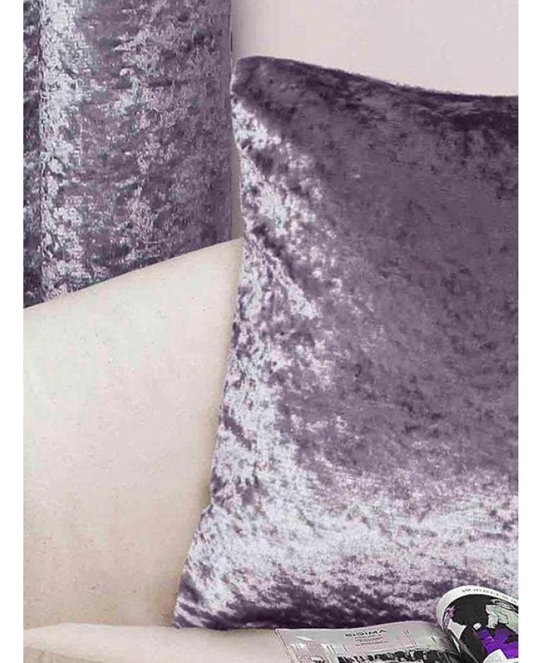 Amethyst Purple Velvet Pillow | Velvet