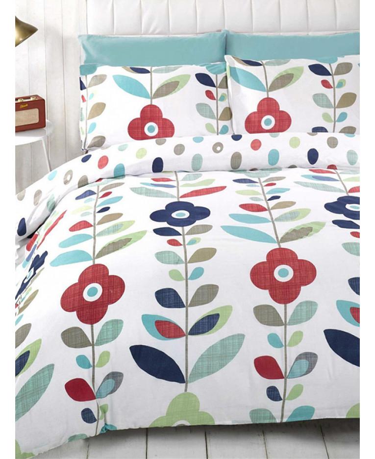 Reversible Duvet Cover and Pillowcase