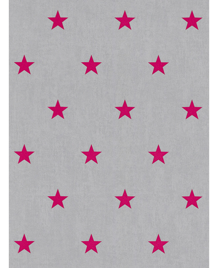 Rasch star wallpaper pink and grey 247619 feature for Pink and grey wallpaper