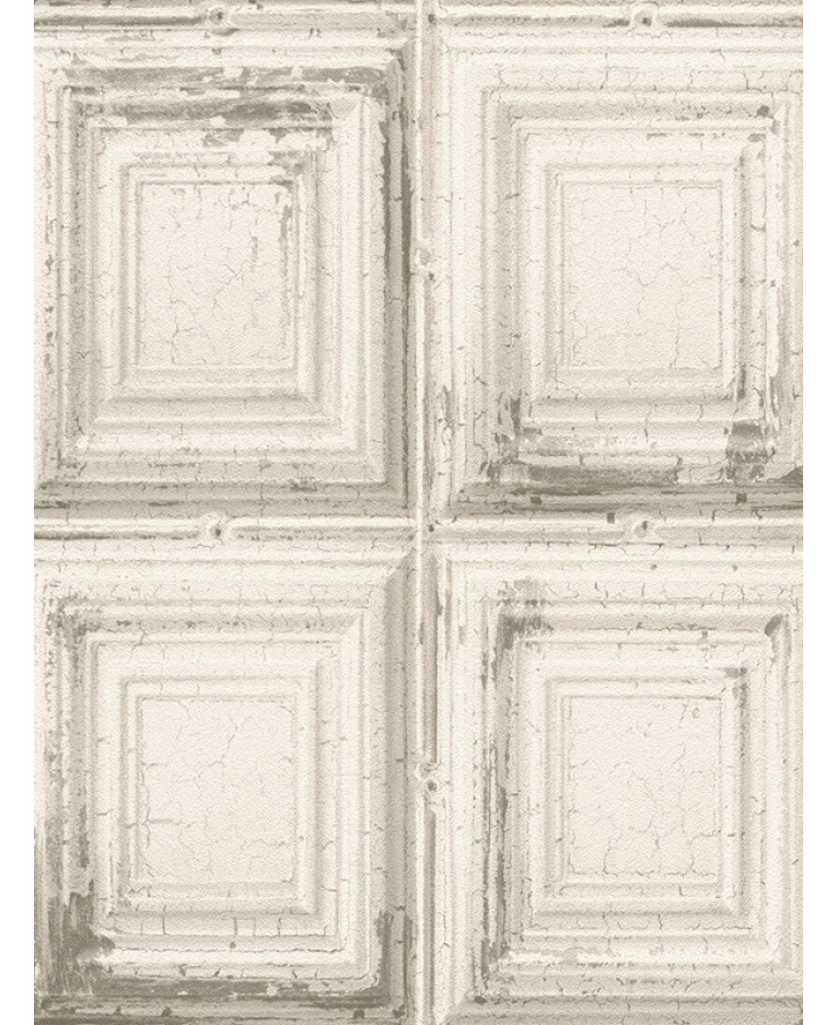 Rasch Distressed Wood Panels Wallpaper
