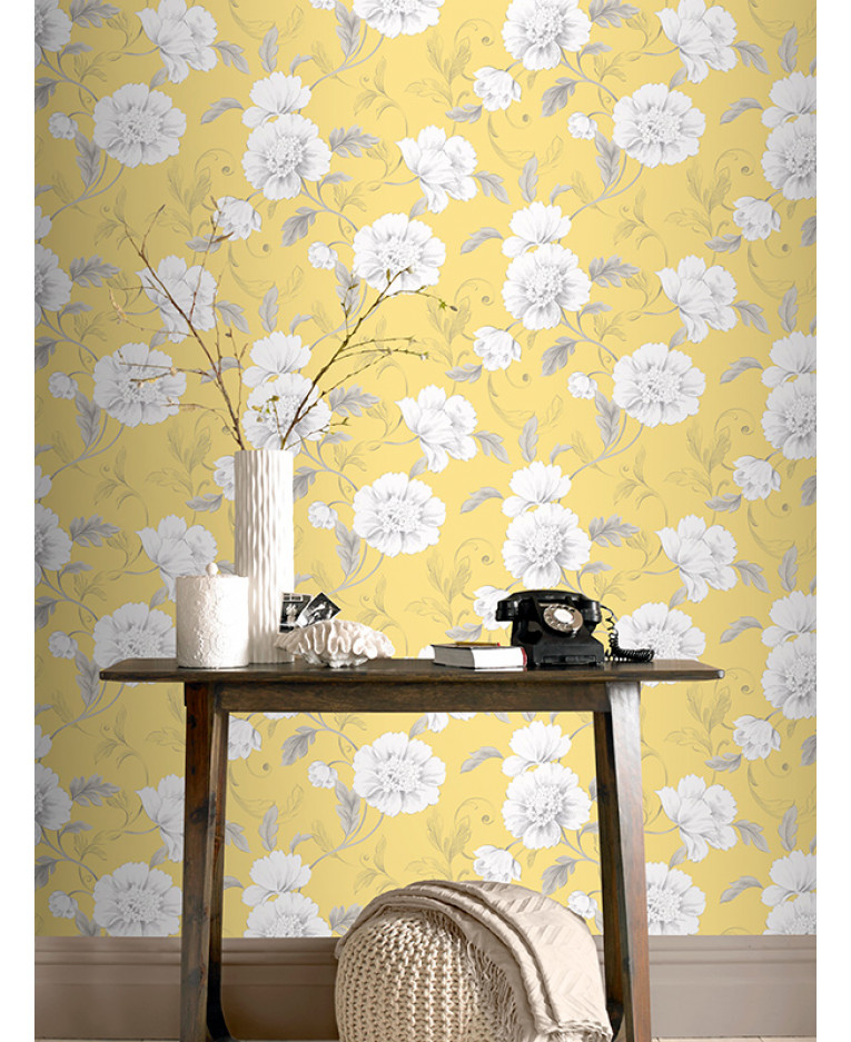 Yellow Feature Wall. Beautiful Great Feature Wall Colours For Living ...