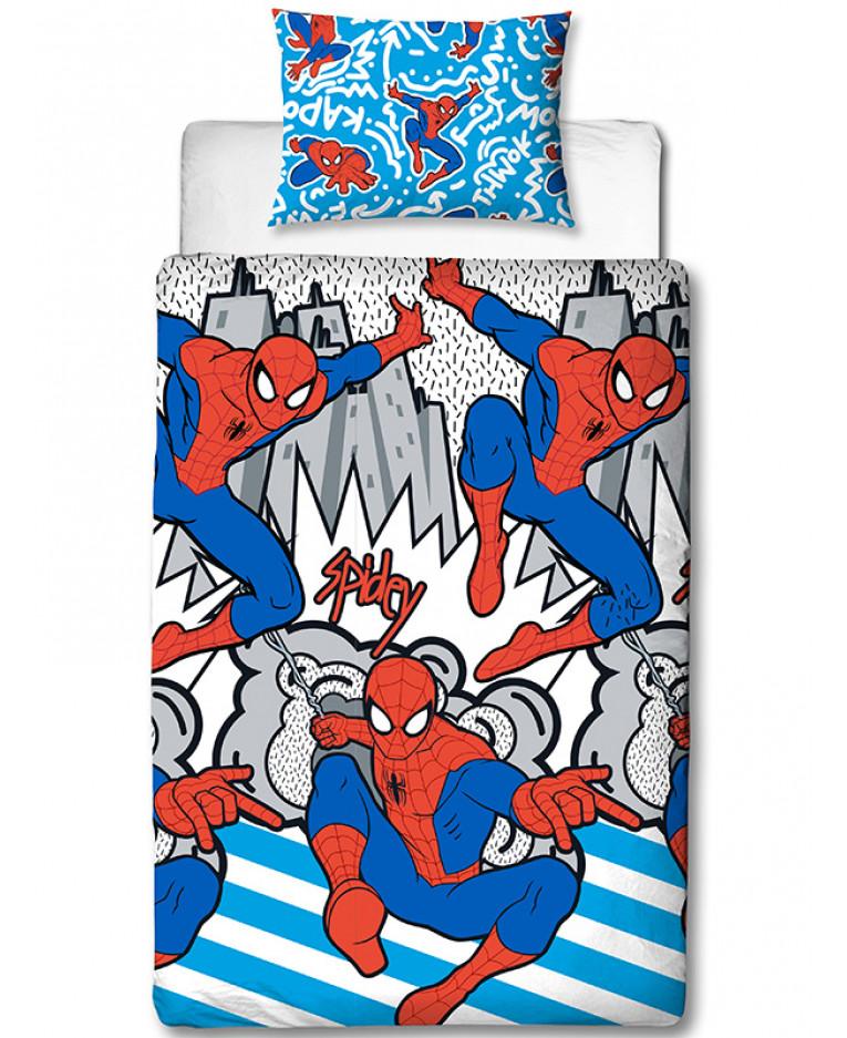 Spiderman Single Size Bedding Set