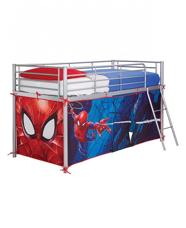 Spiderman Mid Sleeper Bed Tent