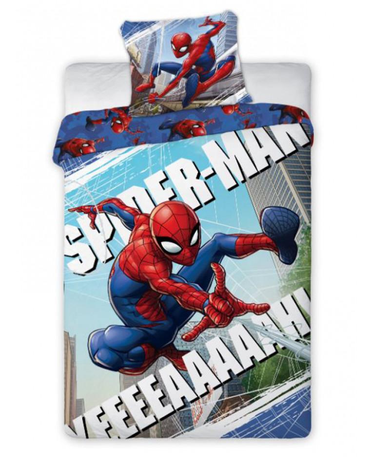 Copripiumino Spiderman.Spiderman Yeah Set Copripiumino Singolo In Cotone Camera Da Letto
