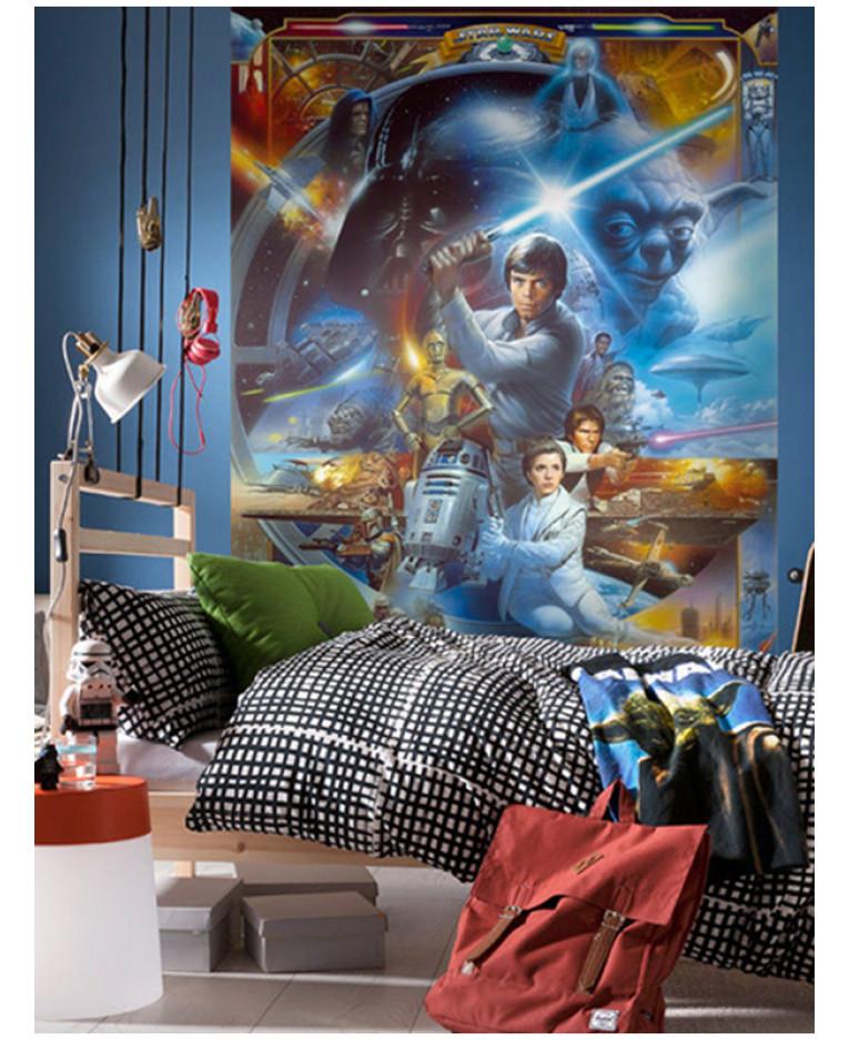 Star Wars Wall Mural 254 X 184cm