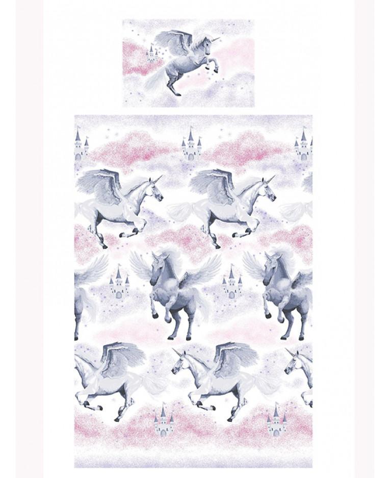stardust unicorn single duvet cover | bedding | bedroom | quilt