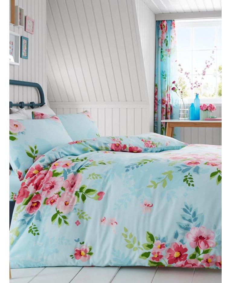 Cotton Floral Duvet Cover Set