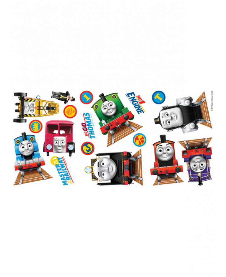 Thomas and Friends Wall Stickers 18 Pieces