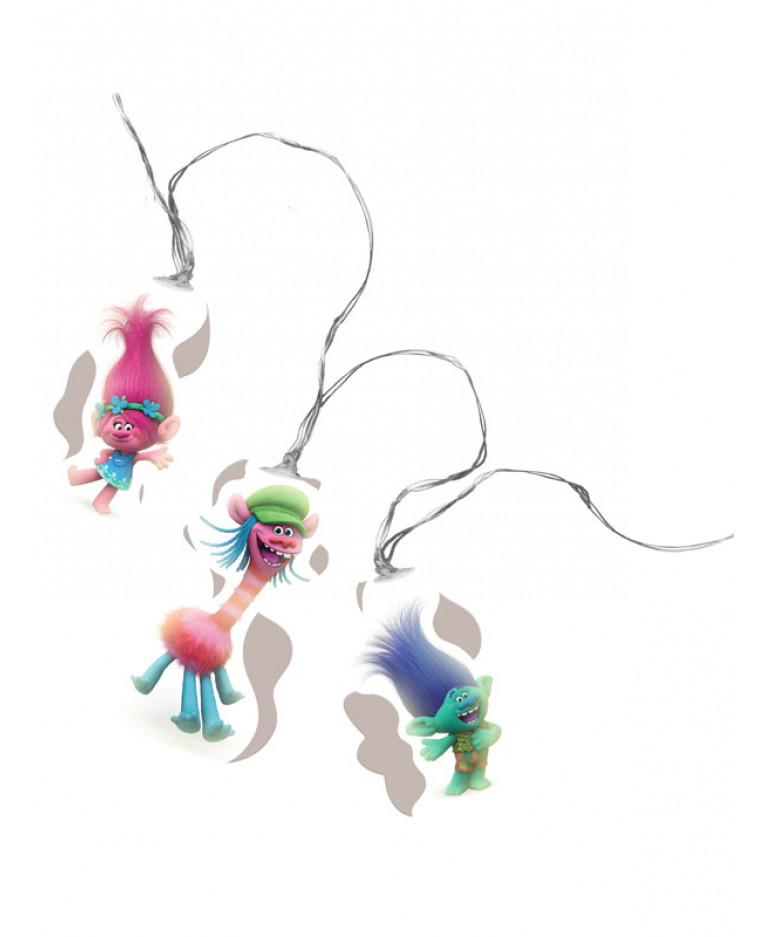 PJ Masques DEL String Lights chambre intérieur éclairage Garçons Filles