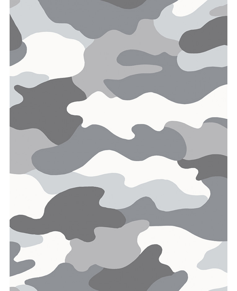 grey camouflage wallpaper bedroom army decor