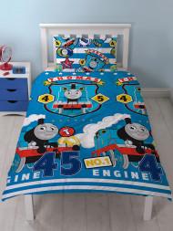 Thomas the Tank Engine /& Friends Sketchbook  single Duvet /& pillowcase set