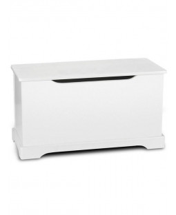 White Wooden Toy Box Chest