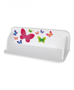 Butterflies Wooden Wall Mounted Bookshelf