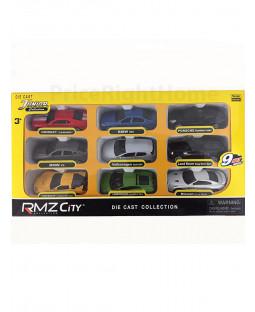 RMZ City Collection Set di 9 auto pressofuse