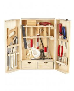 Juego de herramientas de madera Leomark - 30 piezas