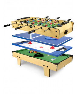 Leomark 4 in 1 Multi Function Games Table