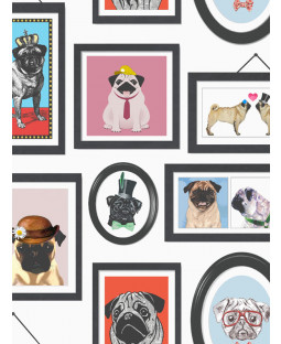 Fondo de pantalla de A Pug's Life Pug Frames - 11360
